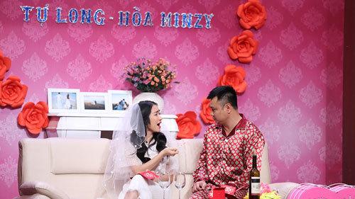 Hoà Mizy quậy tung, đòi cưới Tự Long tại Ơn giời - ảnh 2