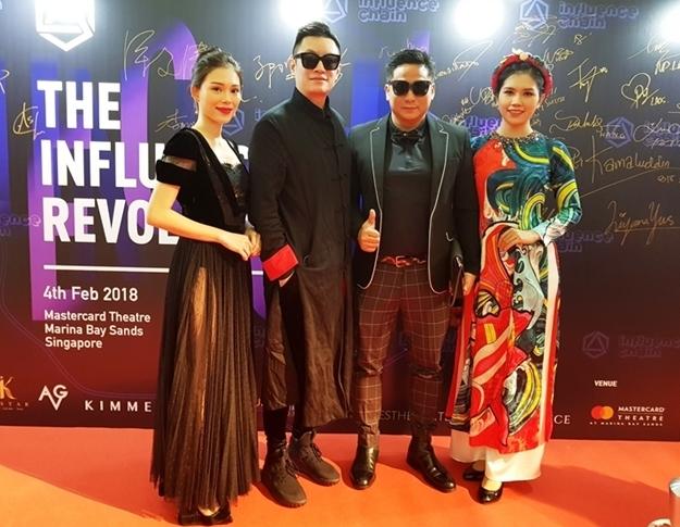 Vợ chồng Minh Tiệp gặp minh tinh Phạm Văn Phương