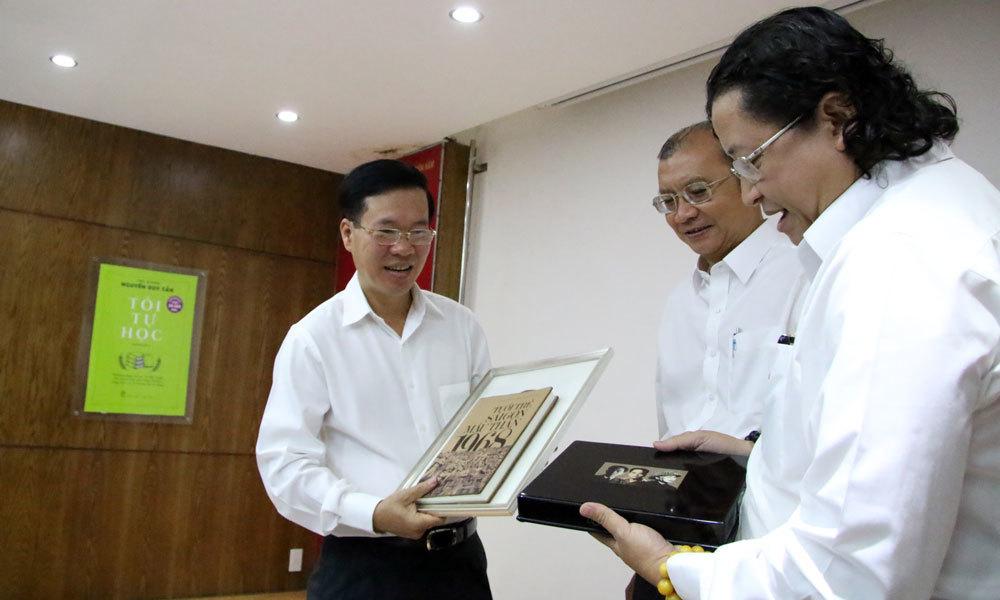 Ông Võ Văn Thưởng: 'Chiến lược phát triển sách quốc gia là đề nghị hay'