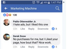 Facebook thử nghiệm nút Downvote thay thế Dislike