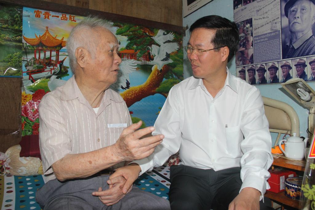 Nguyễn Văn Tý,nhạc sĩ Nguyễn Văn Tý,Võ Văn Thưởng,Trưởng ban tuyên giáo Trung ương