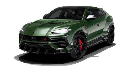 Xe độ bản topcar của mẫu xe SUV Lamborghini Urus