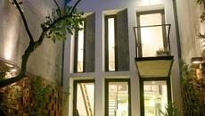 Ngôi nhà 40m2 với thiết kế sân vườn độc đáo ở Hà Nội