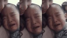 Bé trai khóc nức nở vì không muốn cô giáo xinh đẹp đi lấy chồng