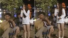 Cô gái bất ngờ nổi tiếng vì phút ngẫu hứng ở Hồ Gươm