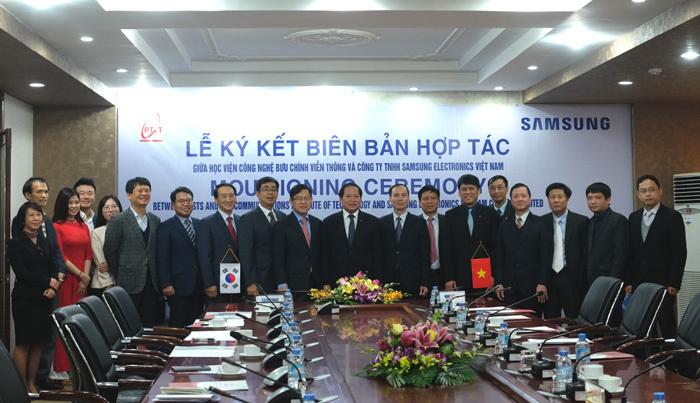15% nhân viên nghiên cứu Samsung VN tốt nghiệp Học viện CNBCVT