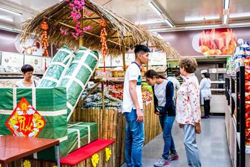 Mua hàng Tết ở MM Mega Market, ưu đãi đến 50%