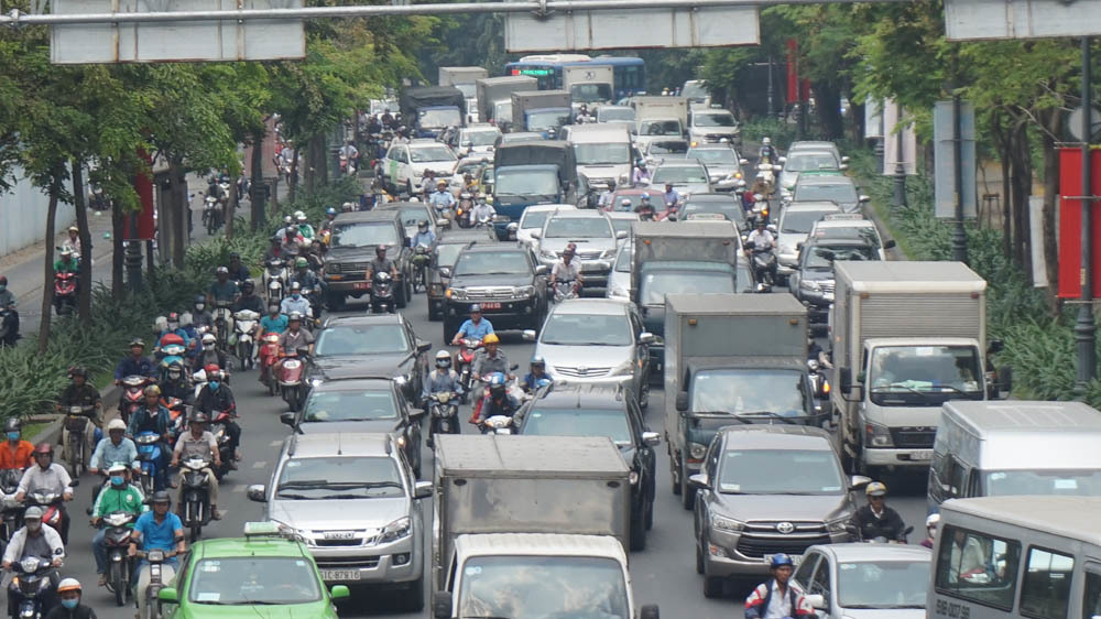 ùn tắc,nghỉ Tết,bến xe Miền Đông,sân bay Tân Sơn Nhất