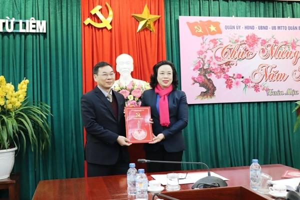Hà Nội: Quận Bắc Từ Liêm có Bí thư mới