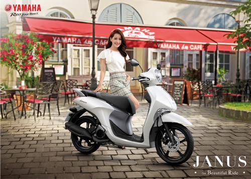 Yamaha gây tiếng vang với chiến dịch 'Vi vu cùng Janus'