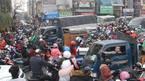 Hà Nội: Ngàn xe chôn chân giữa đường ngày giáp Tết
