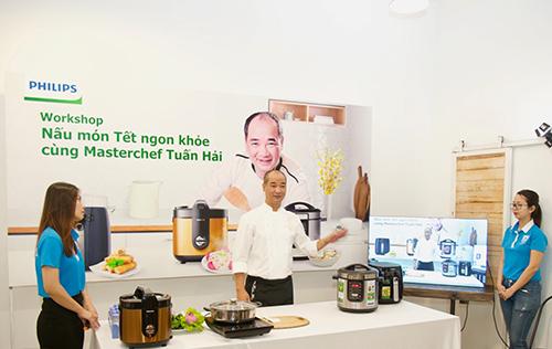 Nấu món Tết ngon khoẻ với bí quyết từ MasterChef Tuấn Hải