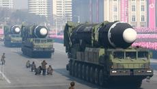 Ảnh hiếm về cuộc diễu binh mới nhất của Triều Tiên