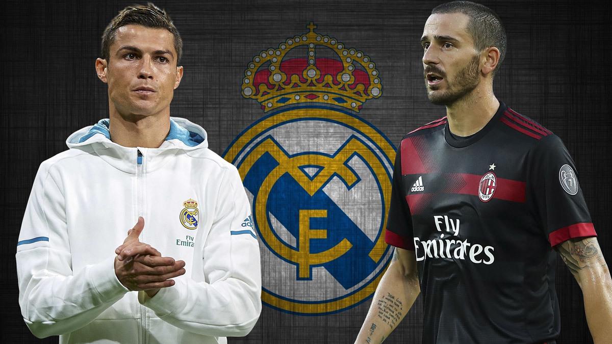 MU,Chelsea,Ronaldo,Real Madrid,De Gea,Bonucci,Isco,Zidane