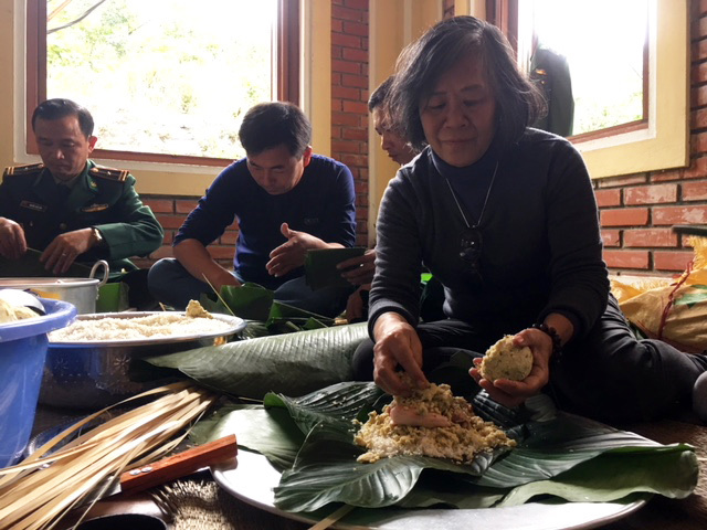 Đại tướng Võ Nguyên Giáp,Vũng Chùa Đảo Yến,bánh chưng