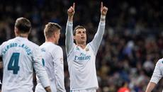 Ronaldo lập hat-trick, Real thắng