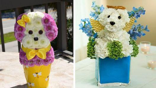 Những lẵng hoa tuyệt đẹp theo chủ đề con giáp 2018