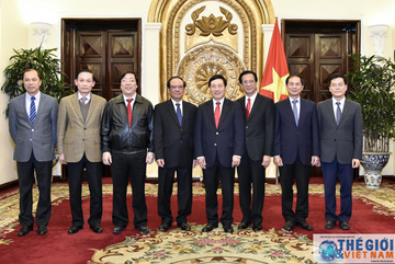 Trao quyết định nghỉ hưu cho 3 Thứ trưởng Ngoại giao