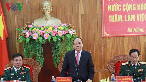 Thủ tướng Nguyễn Xuân Phúc,Bộ Quốc phòng,thành phố Đà Nẵng