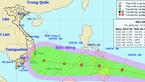 Bão giật cấp 12 xuất hiện gần biển Đông