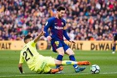 """Messi """"mất tích"""", Barca bị cầm hòa trên sân nhà"""
