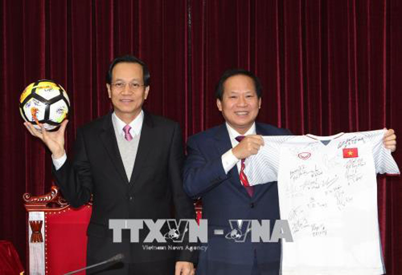 U23 Việt Nam,bóng đá Việt Nam,Thủ tướng Nguyễn Xuân Phúc,Nguyễn Xuân Phúc