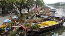 Dọc bến Bình Đông, xem chợ hoa ngày Tết