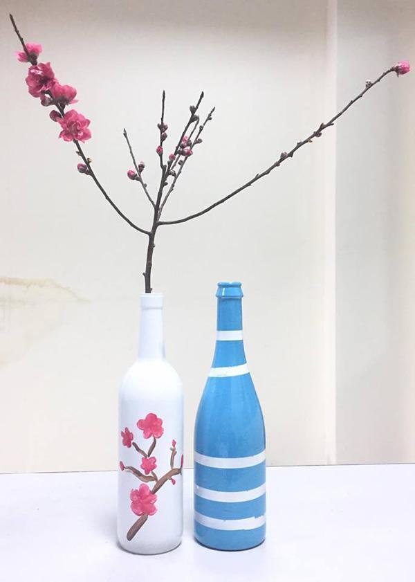 Hoa đào,cách cắm hoa đào ngày tết,đào Nhật Tân