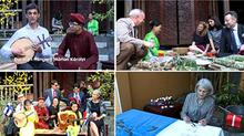 Các đại sứ EU học gói bánh chưng, chơi đàn nguyệt đón Tết