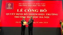 Trường ĐH Hà Nội có hiệu trưởng mới