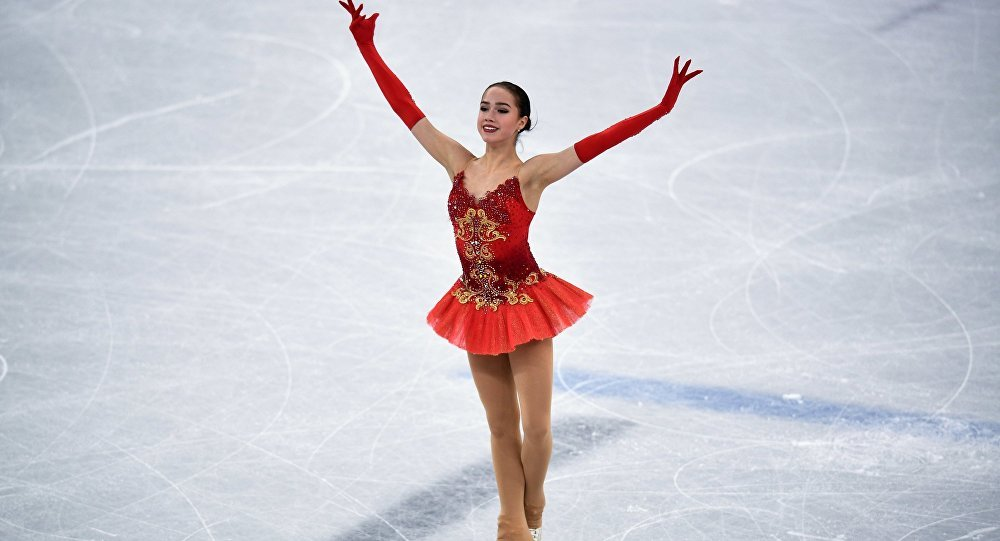 Thế vận hội,Olympic mùa đông,Alina Zagitova