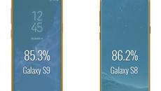 Màn hình Galaxy S9 nhỏ hơn Galaxy S8?