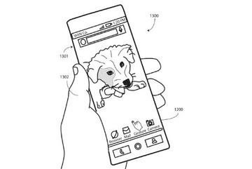 Motorola sáng chế smartphone màn hình OLED uốn dẻo