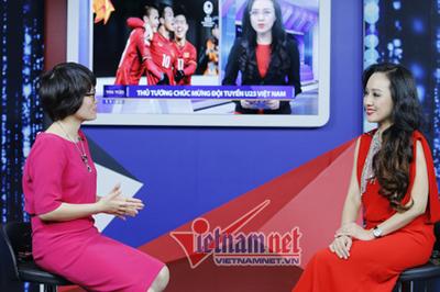Fan cuồng khiến BTV Hoài Anh phát hoảng
