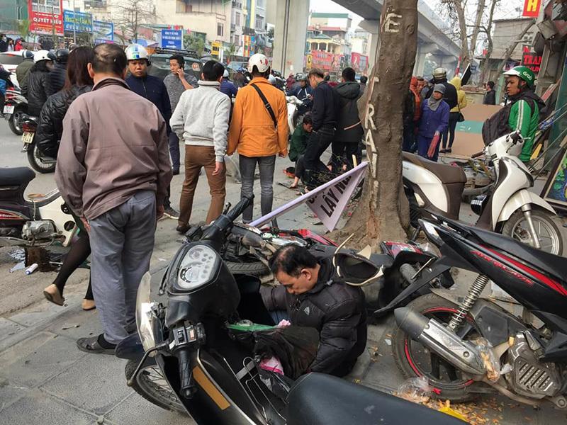tai nạn giao thông,tai nạn liên hoàn,Hà Nội