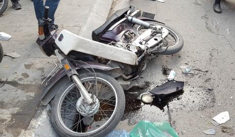 tai nạn liên hoàn