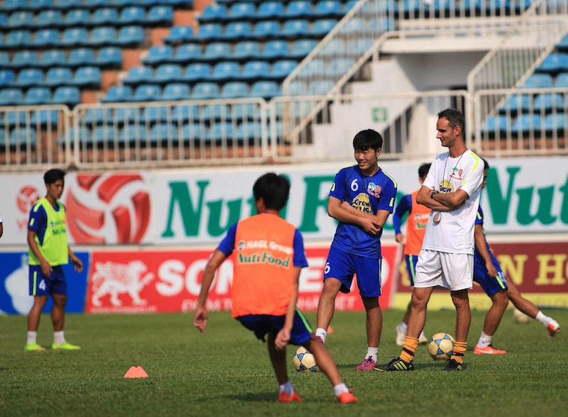 V-League,HAGL,Xuân Trường,U23 Việt Nam