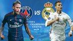 Trực tiếp Real Madrid vs PSG: Đại chiến luận anh hùng