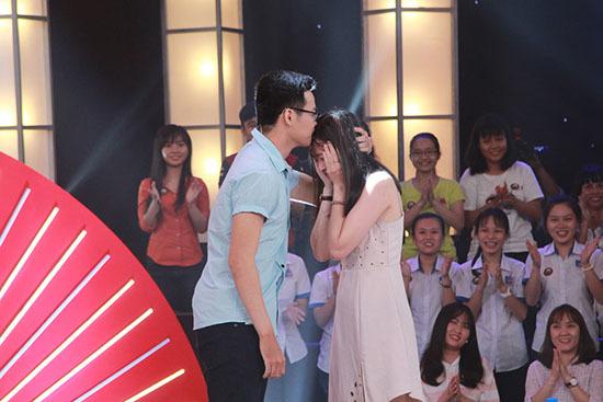 Thí sinh thi hài cầu hôn bạn gái trước mặt Trường Giang