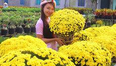 Làng hoa 'vạn người mê' đông nghẹt ngày cận Tết