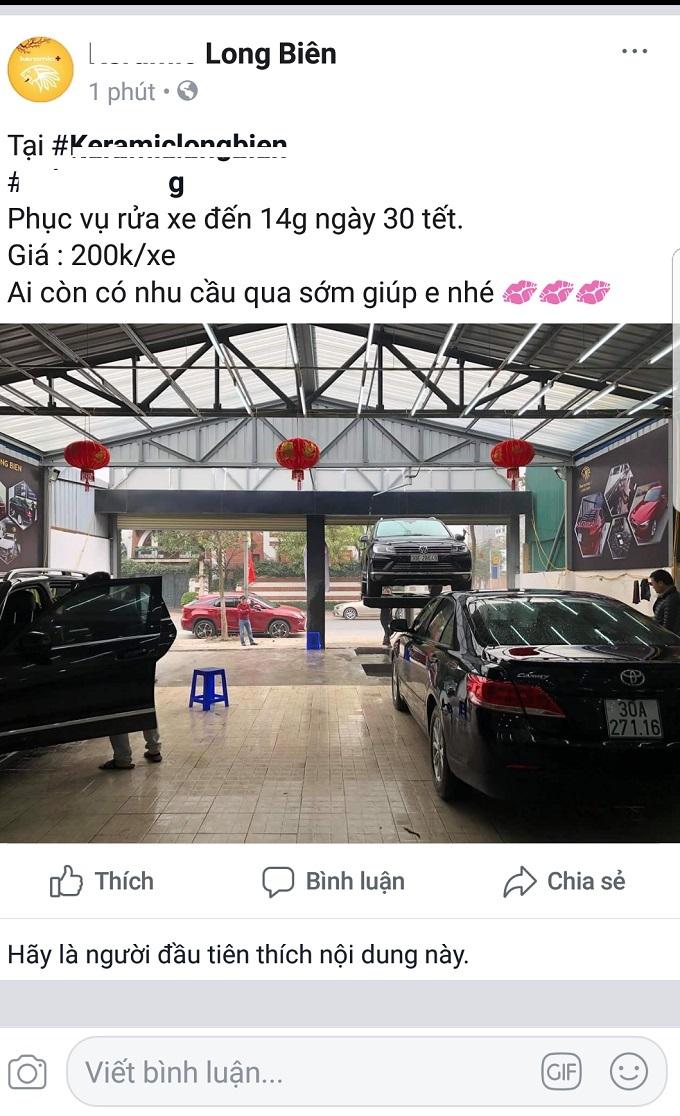 Ngày 30 Tết: Rửa xe 200 nghìn đồng/lượt, khách vẫn ùn ùn xếp hàng - ảnh 7