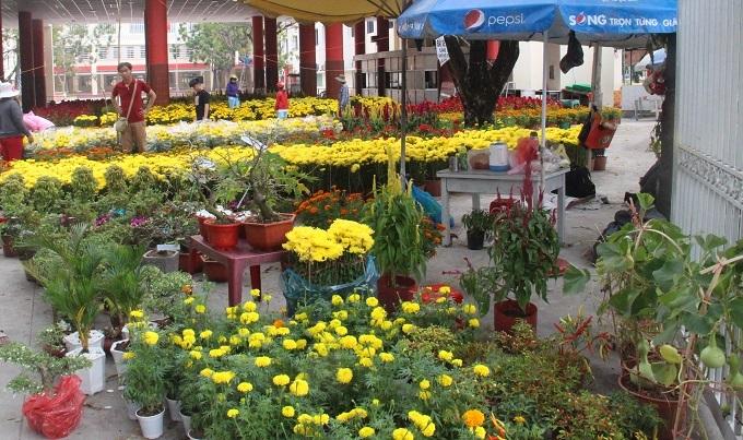 Chợ 30 Tết; Hiu hắt khách mua, chủ hàng đổ hoa xuống sông - ảnh 10