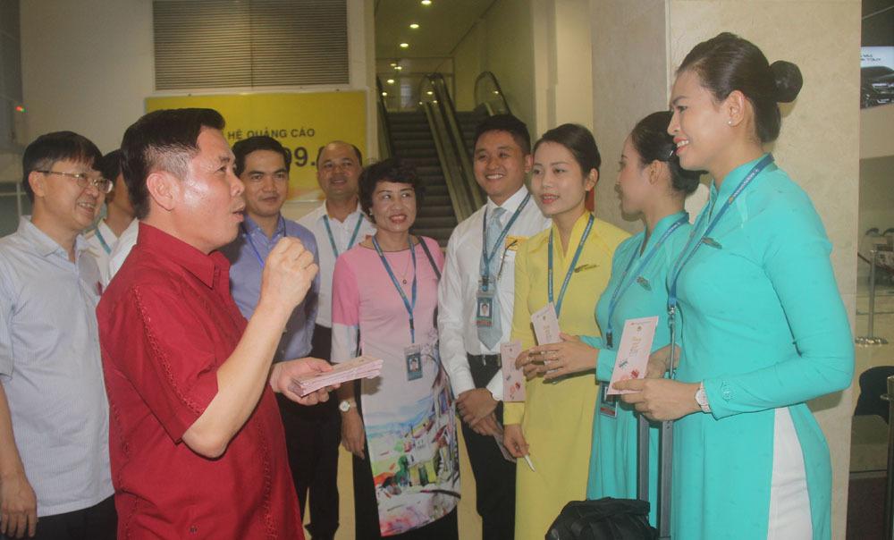 Tân Sơn Nhất,Bộ trưởng GTVT,Nguyễn Văn Thể,Tết Mậu Tuất,năm mới 2018,giao thông
