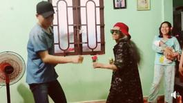 Phấn khích xem Ali Hoàng Dương và bà ngoại 80 tuổi nhảy 'Con bướm xuân'