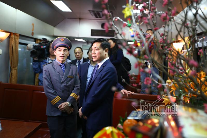 Nguyễn Ngọc Đông,thứ trưởng GTVT,giao thông,Tết Mậu Tuất,năm mới 2018