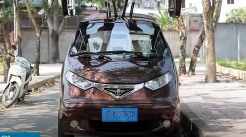 Kỹ sư Việt tự chế tạo ôtô điện chạy 160 km một lần sạc
