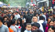 Hà Nội: Biển người chen chân đi lễ sáng mùng 1 Tết