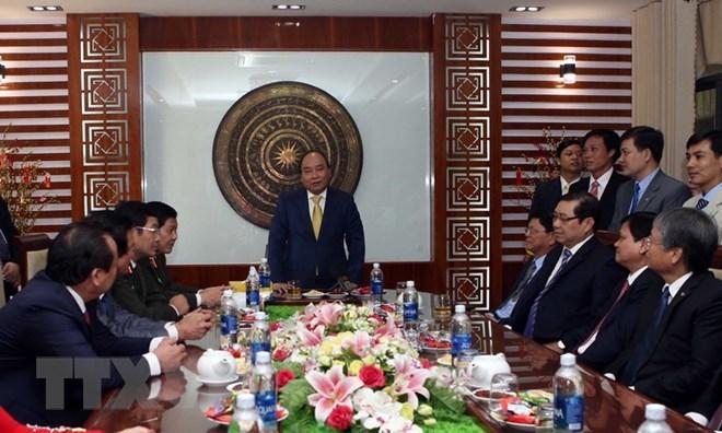 Thủ tướng Nguyễn Xuân Phúc,Nguyễn Xuân Phúc,Đà Nẵng,Tết Nguyên đán,Tết Mậu Tuất