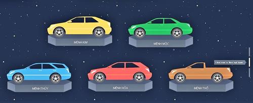 màu xe,màu ô tô,mua xe,mua ô tô