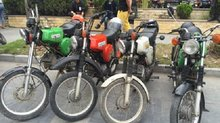 Dân chơi Việt cưỡi 'siêu xe' Simson, Min 'khờ', Super cub... đi chơi Tết